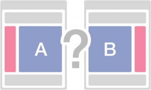 3. A/B Testing for web designers