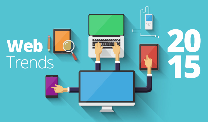 Web design trends to watch for in 2015