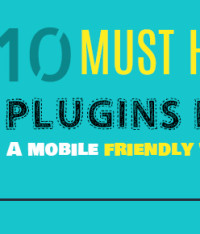 10 Must have plug-ins for a mobile friendly website