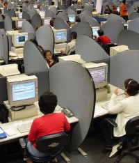 Call Centers, a Symbol of Economic Boon in India