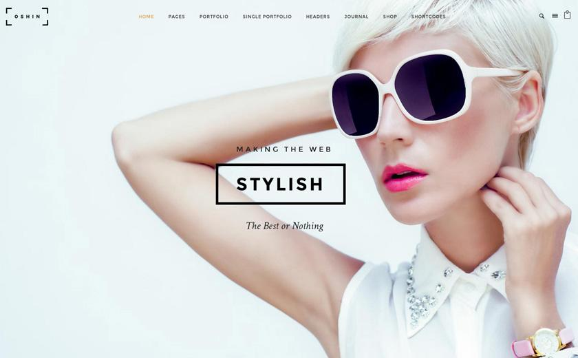 Oshine Free WordPress Theme