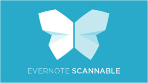 Scannable by Evernote