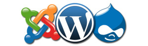 WordPress VS Joomla! VS Drupal