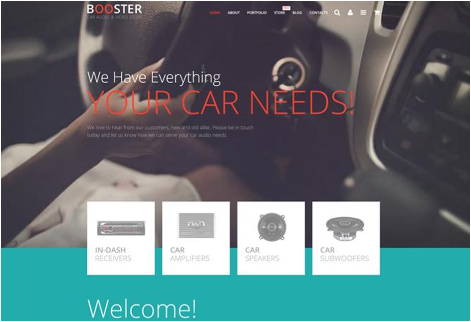 Car Audio Video WooCommerce Theme