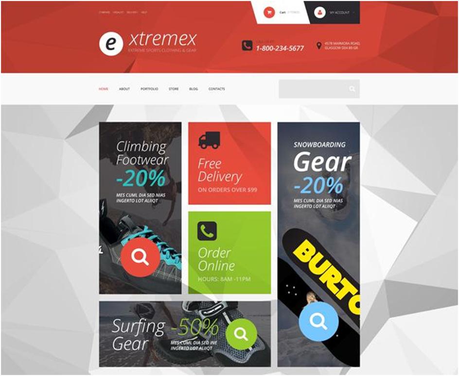 Extremex WooCommerce Theme