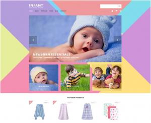 Infant Clothing Store WooCommerce Theme