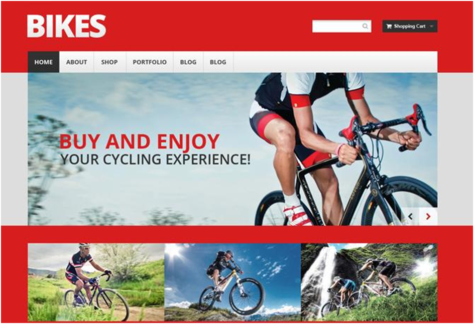 Mountain Bikes WooCommerce Theme