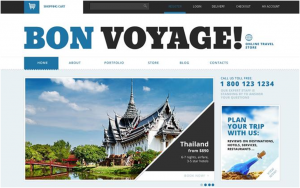 The Bon Voyage WordPress eCommerce theme