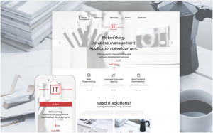 Effective IT Solutions WordPress Theme