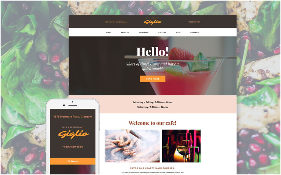Giglio WordPress Theme