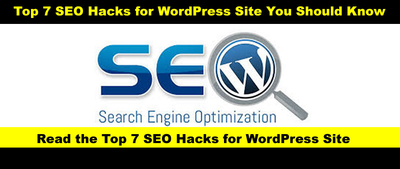 Top 7 SEO Hacks for WordPress Site