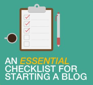 start_a_blog_checklist