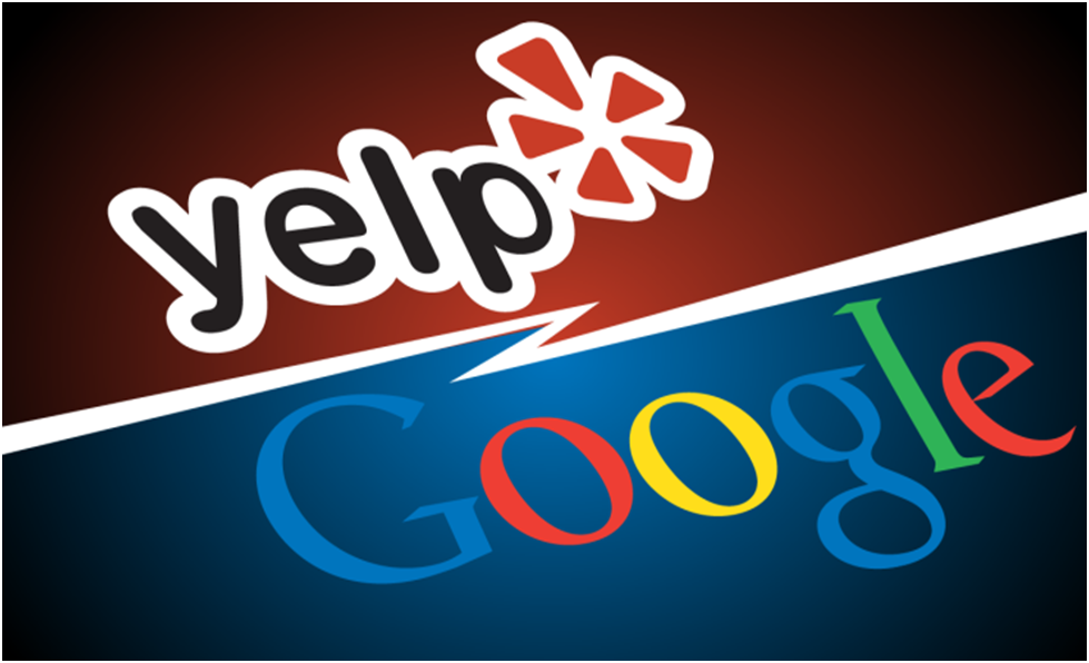 Google and Yelp