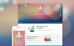 Web design free Joomla template