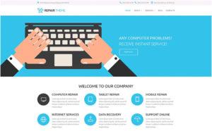Electronics Fixing Services WordPress Theme