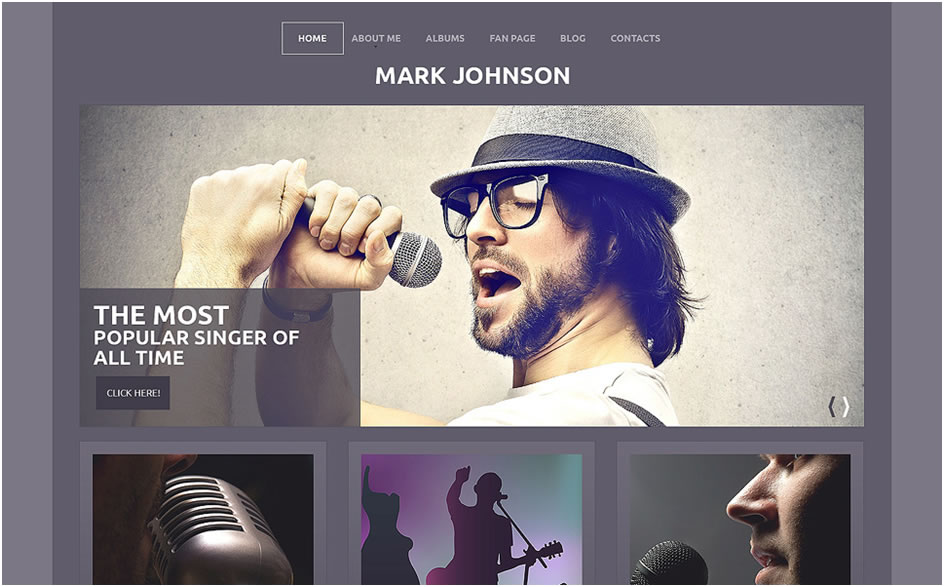 Singer Responsive WordPress Theme2