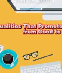 6 Qualities That Promote a Web Designer from Good to Great