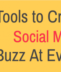 Tools to Create a Social Media Buzz At Events