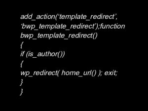 WordPress Security | Hiding WP Admin
