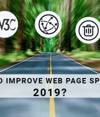 How to improve web page speed in 2019?