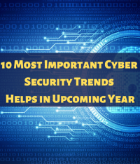 10 Most Important Cyber Security Trends Helps in Upcoming Year